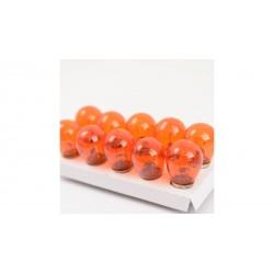 4CARS Žiarovka S25 12V 21W orange BAU15S 10 ks