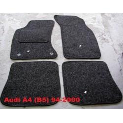 Textilné autokoberce AUDI A4 B5 ANTRACIT