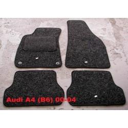Textilné autokoberce AUDI A4 B6 (2001 - 2004)- Antracit