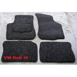 Textilné autokoberce VW GOLF IV (1997 - 2004) - Antracit