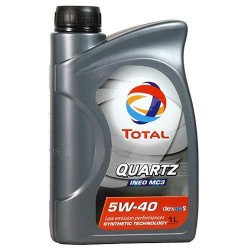 OLEJ MOT.5W/40 TOTAL QUARTZ INEO MC3 /1L