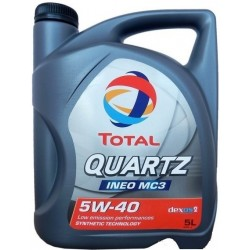 OLEJ MOT.5W/40 TOTAL QUARTZ INEO MC3/5L