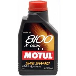 OLEJ MOT.5W/40 MOTUL 8100 X-CLEAN C3 1L
