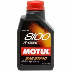 OLEJ MOT.5W/40 MOTUL 8100 X-CESS  1L