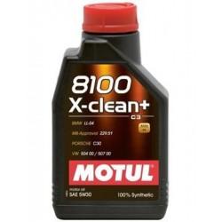 OLEJ MOT.5W/30 MOTUL 8100 X-CLEAN+ 1L