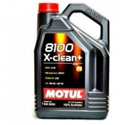 OLEJ MOT.5W/30 MOTUL 8100 X-CLEAN+ 5L