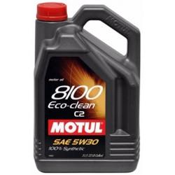 OLEJ MOT.5W/30 MOTUL 8100 ECO-CLEAN C2 5L
