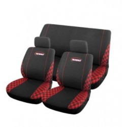 Poťahy Speed BLACK/RED ALL RIDE