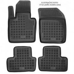 Gumové rohože Opel Vivaro II od 2014 - predné pre 3 osoby (1 rada sedadiel) s extra materiálom na strane vodiča