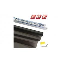 4CARS Fólia na okná Dark Black 075x3m Priepustnosť svetla 15%