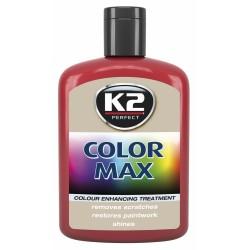 K2 - Vosk zafarbovací  /Červený/ COLOR MAX/ 0,2L