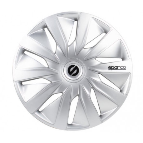 "Puklice 14"" SPARCO SILVER"
