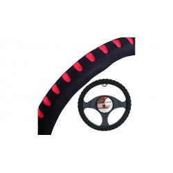 4CARS poťah volantu penový červený 37-39
