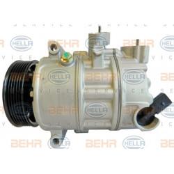 Kompresor klimatizácie HELLA - Audi, Seat, Škoda, VW